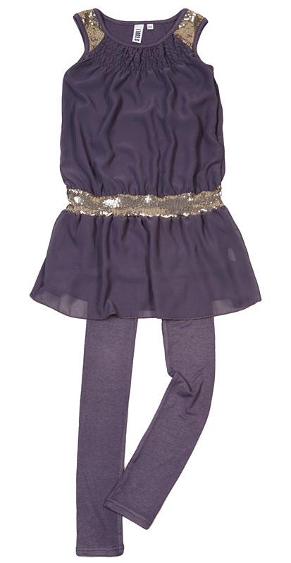 Комплект :платье, легинсы для дев.40413 40413