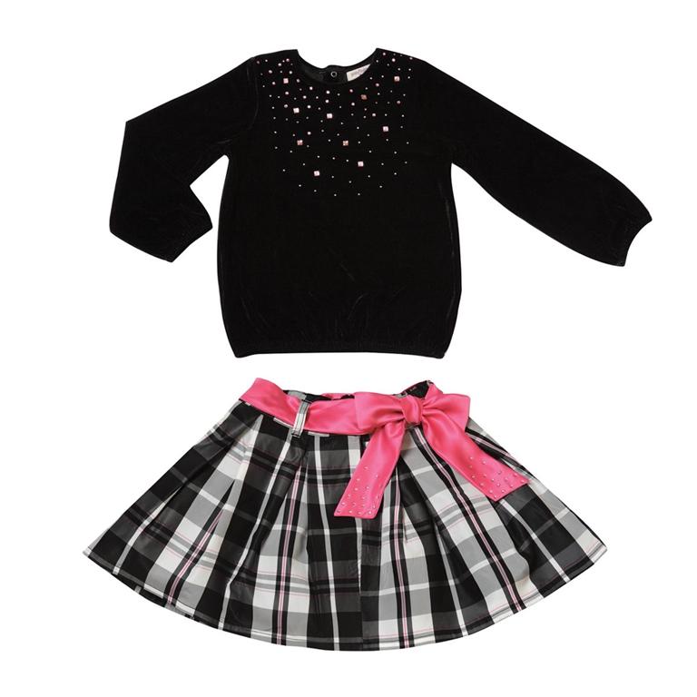 Комплект: юбка, футболка 412001