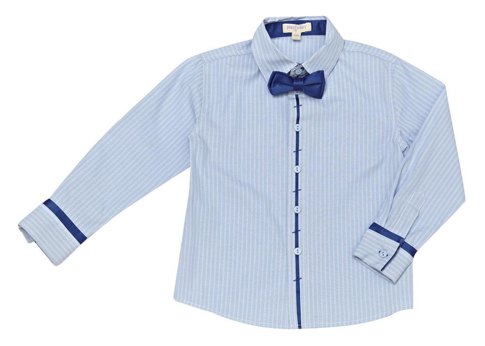 Комплект: сорочка, галстук-бабочка для мальчика 421012