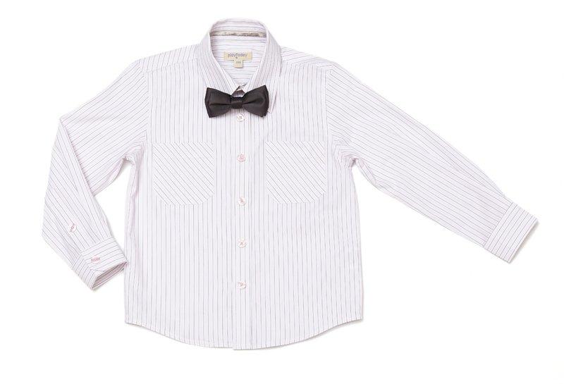 Комплект: сорочка, галстук-бабочка 431031
