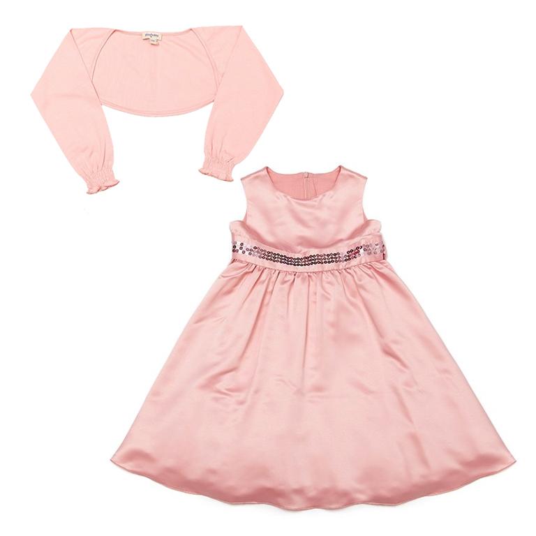 Комплект: платье, болеро 432001