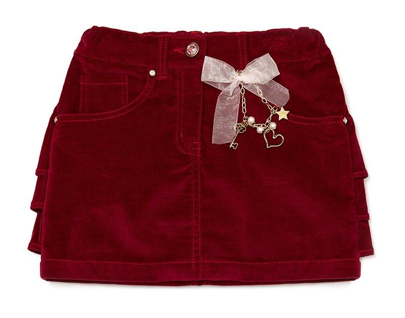 Комплект: юбка текстильная, брелок 432011