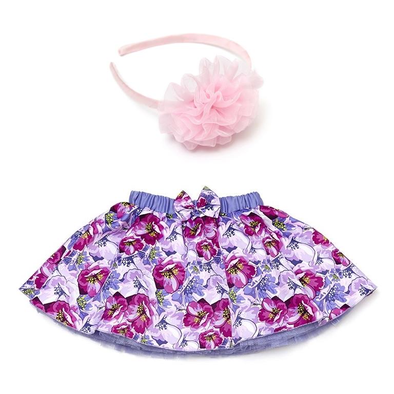 Комплект: юбка, ободок для волос 432038