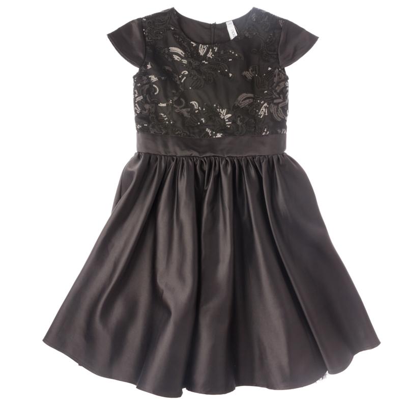 Платье текстильное для девочек 454001