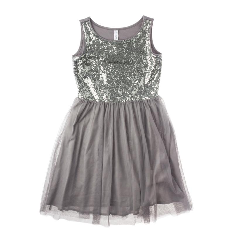 Платье текстильное для девочек 454004