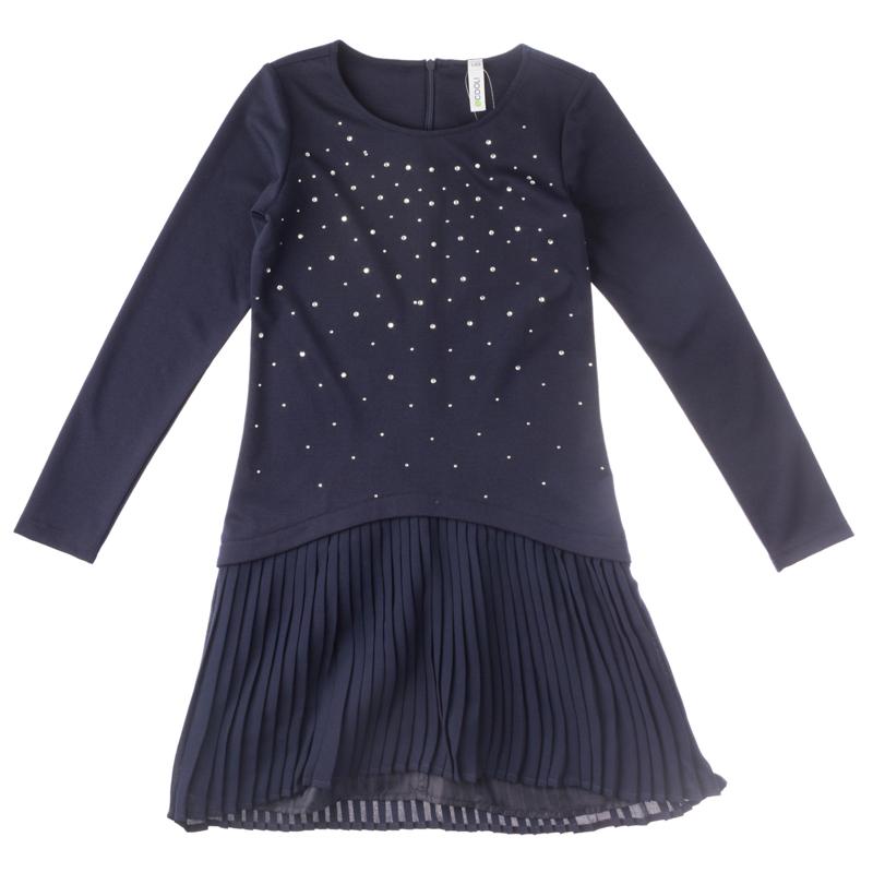 Платье трикотажное для девочек 454005