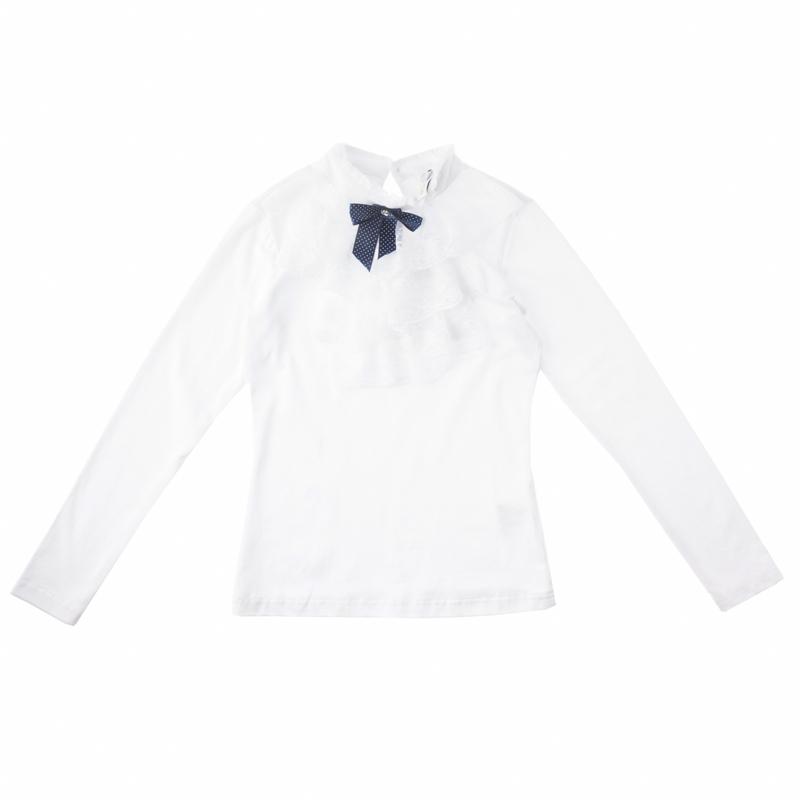 Блузка трикотажная для девочек 454007