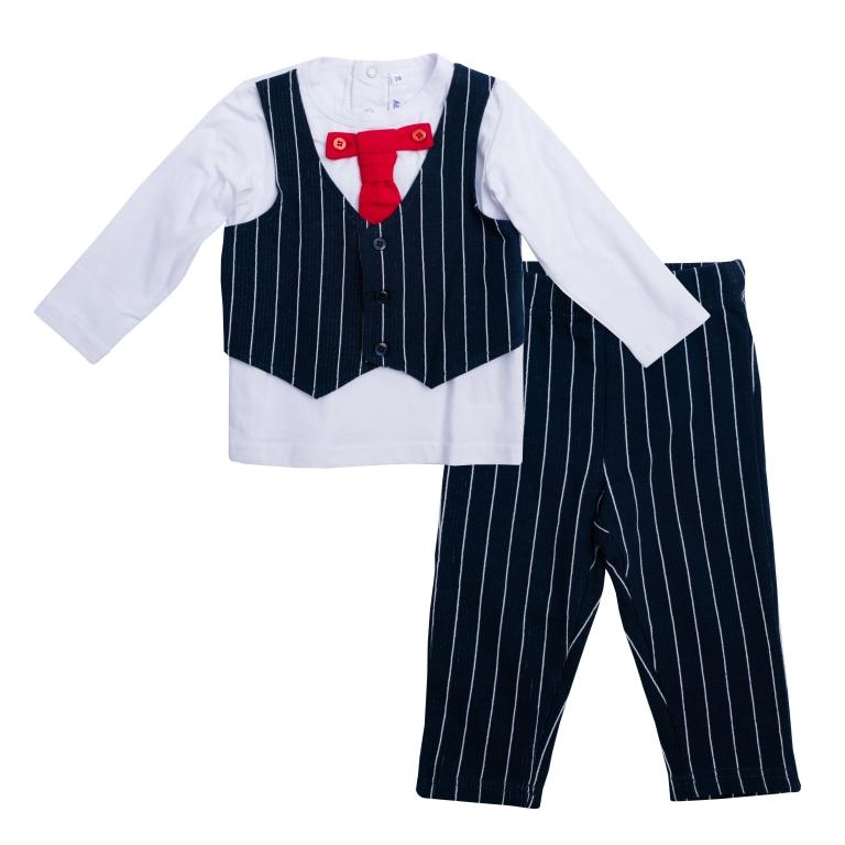 Комплект:футболка с длинным рукавом, брюки 467003
