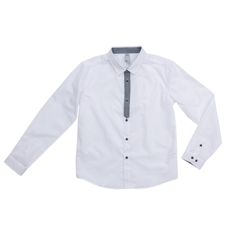4847e812cf3 473002 Белая сорочка для мальчика S COOL - купить на odevaika.ru