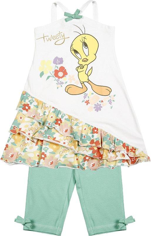 Комплект: платье, леггинсы для дев. 51257