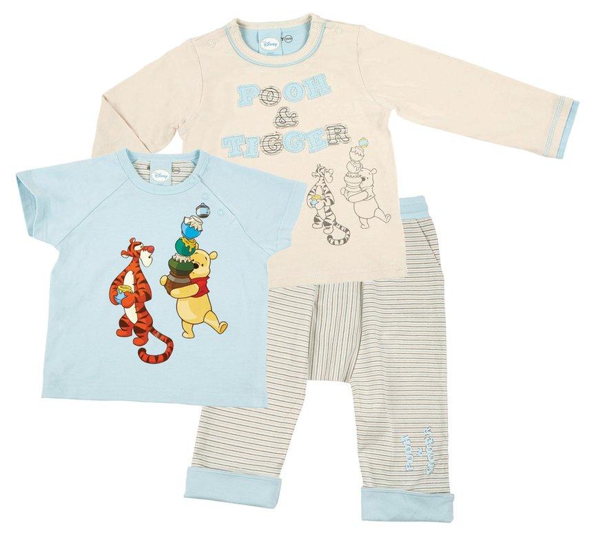 Комплект: футболка -2шт., брюки для мал. 517010