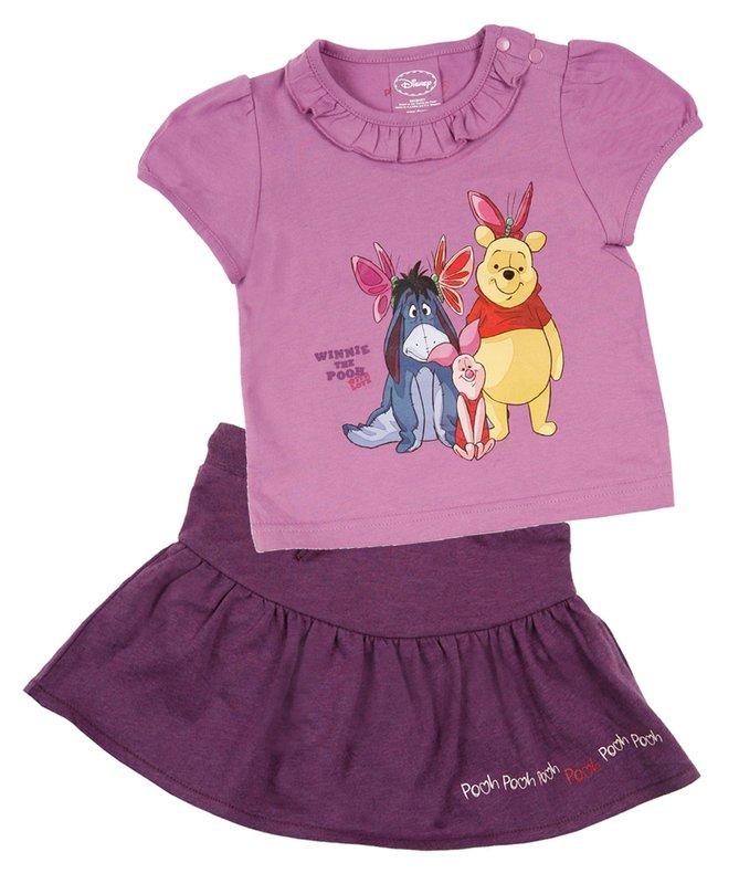 Комплект: футболка, юбка для дев. 518009