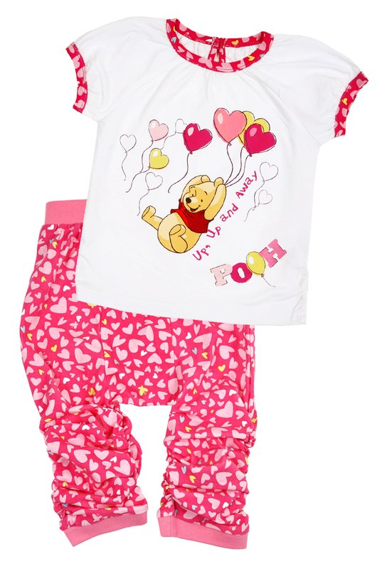 Комплект: футболка, брюки для дев. 518013