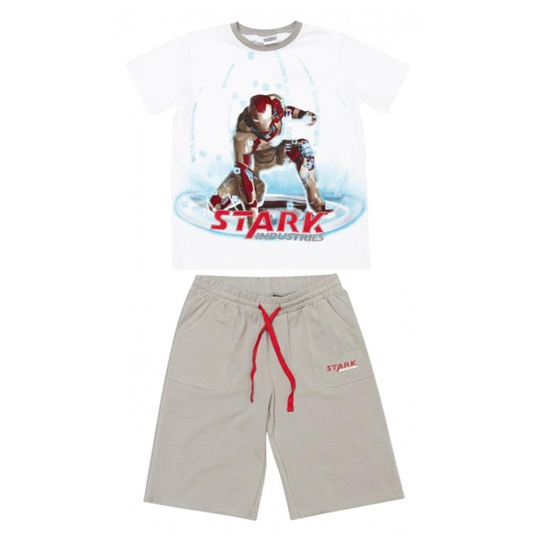 Комплект: футболка с короткими рукавами, шорты 533004