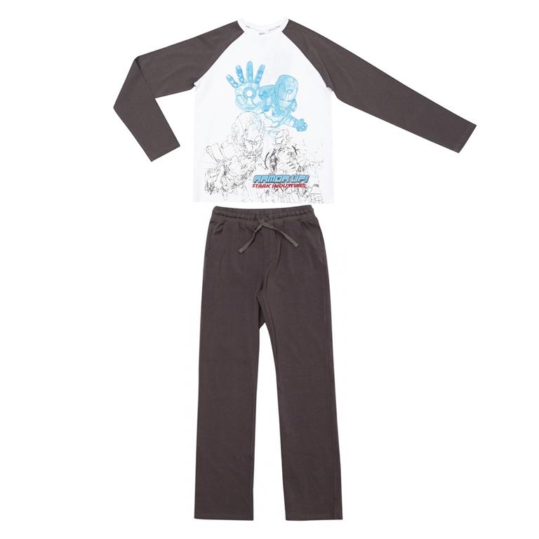 Комплект: футболка с длинными рукавами, брюки 533005