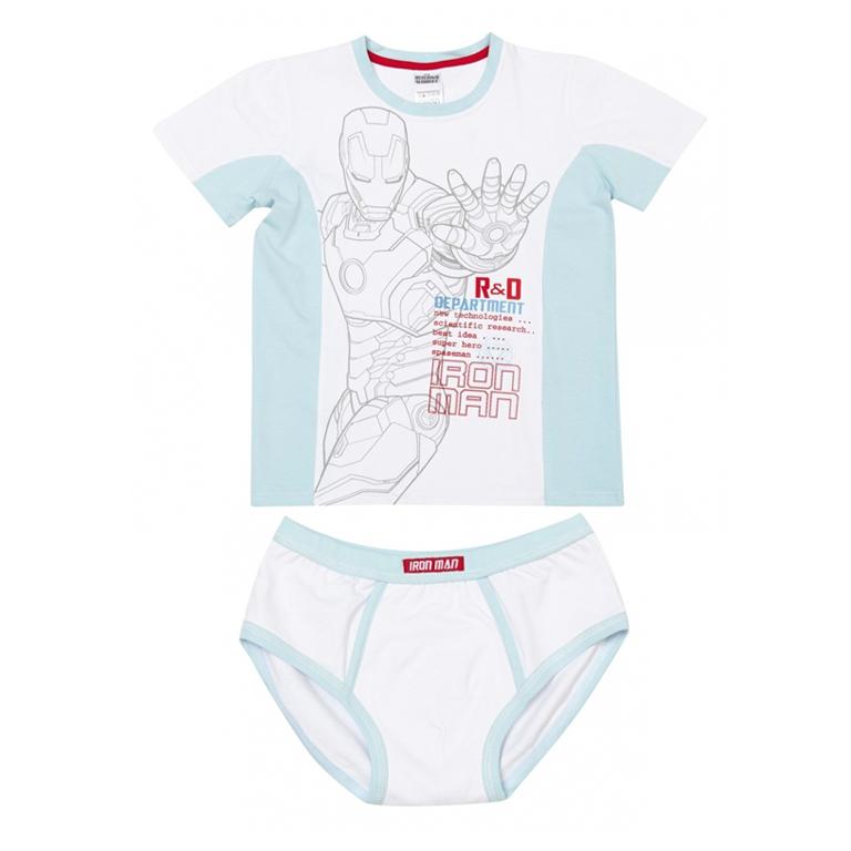 Комплект: футболка с короткими рукавами, трусы 533006