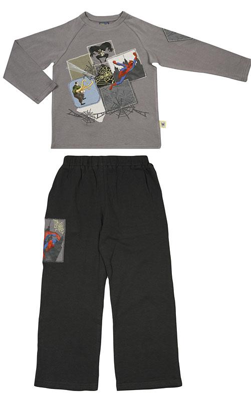 Комплект: футболка, брюки для мал 601012