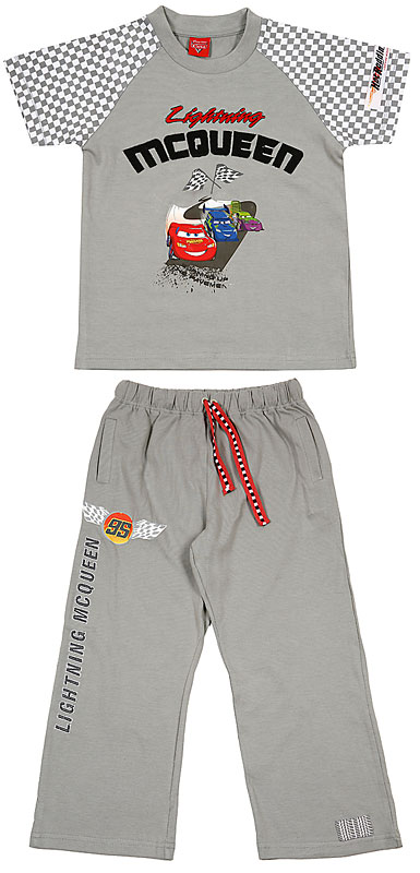 Комплект: футболка, брюки для мал. 605006