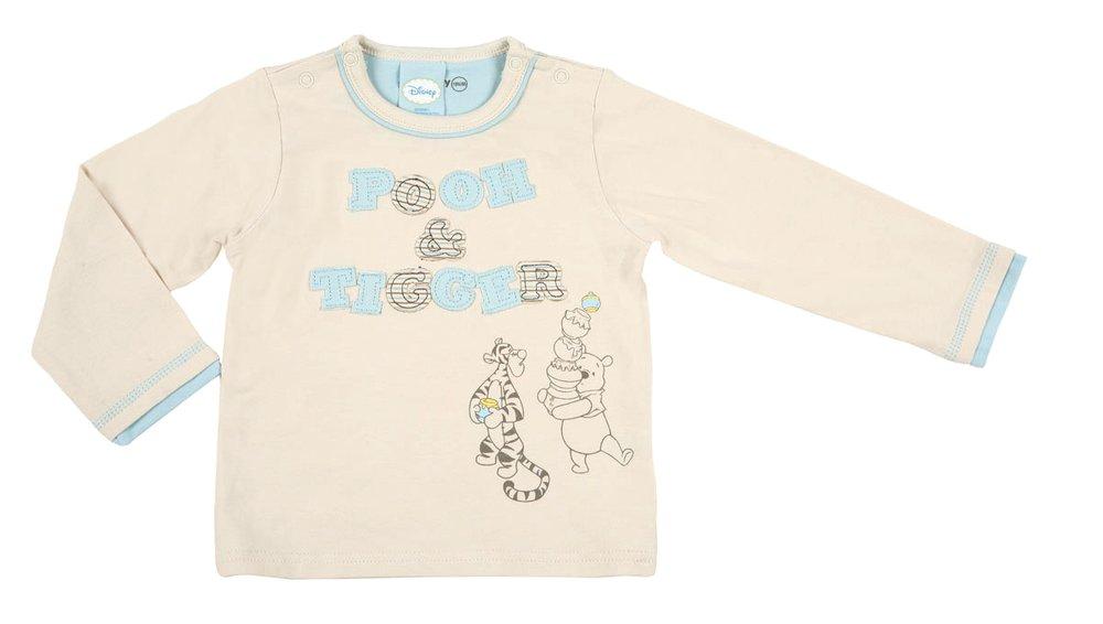 Фуфайка детская трикотажная для мальчиков (футболка с длинными рукавами) 637014
