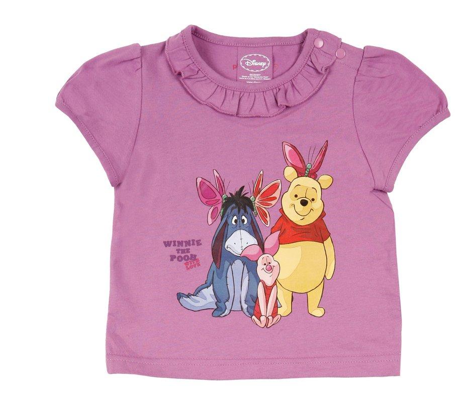 Фуфайка детская трикотажная для девочек (футболка) 638019