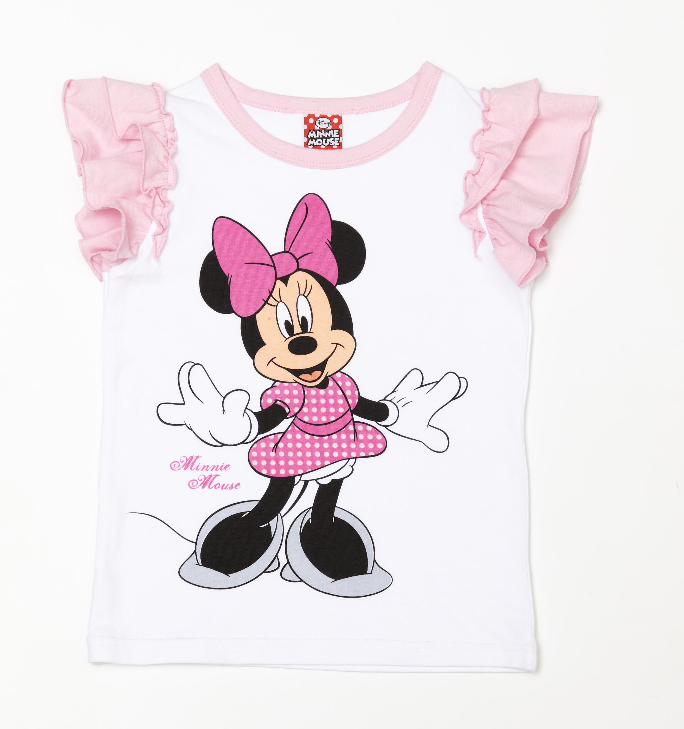 Фуфайка трикотажная для девочек (футболка) 639008