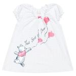 Пижама: туника, шорты 644007