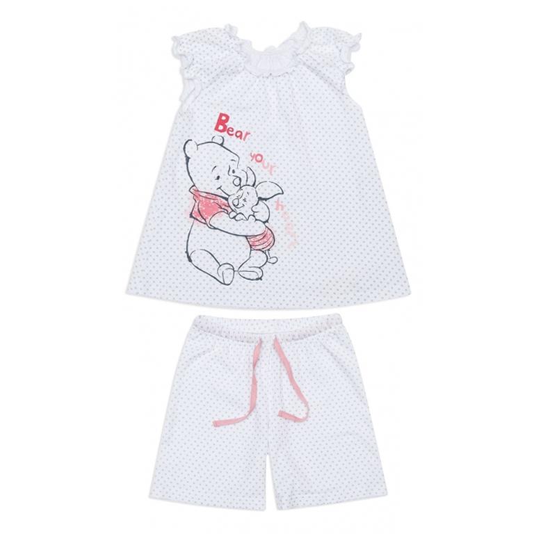 Пижама: туника, шорты 646001