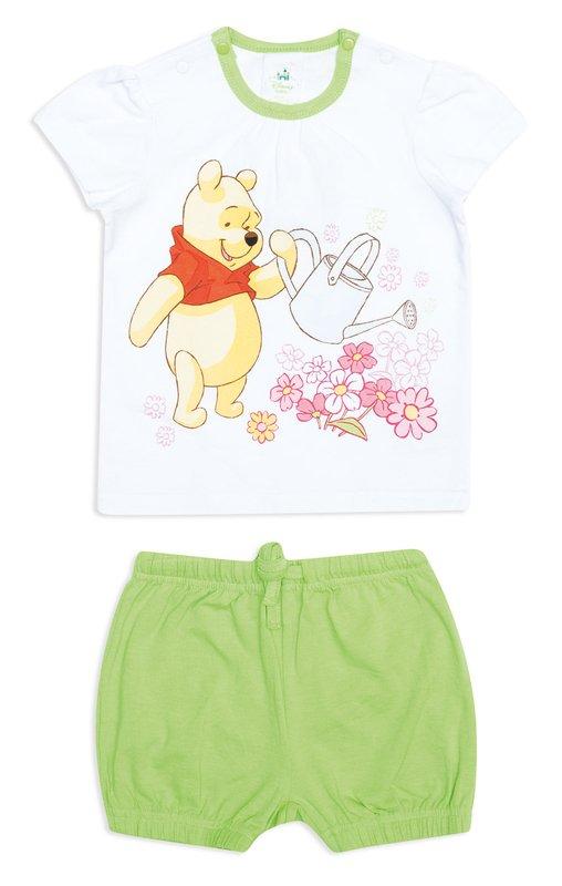 Комплект: футболка, шорты 648001