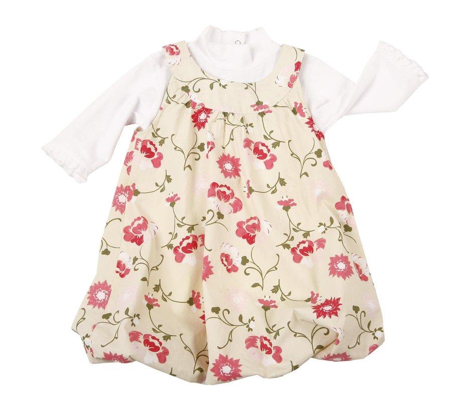 Комплект: платье, водолазка для дев. 702012