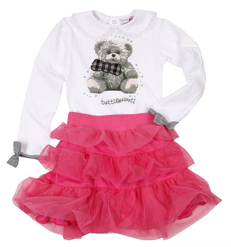 Комплект: боди, юбка для дев. 802013