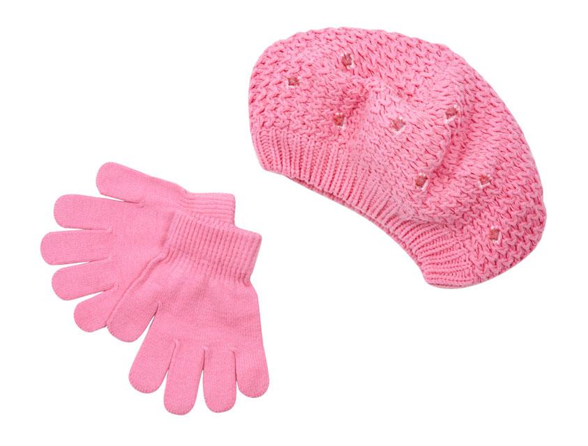 Комплект: шапка, перчатки 812003
