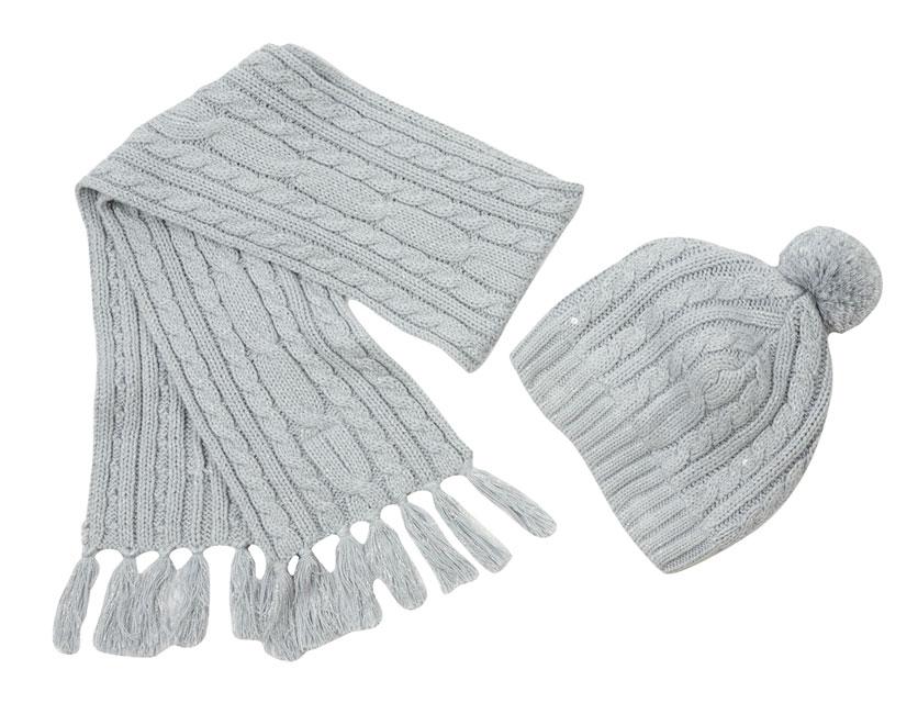 Комплект: шапка, шарф 812004