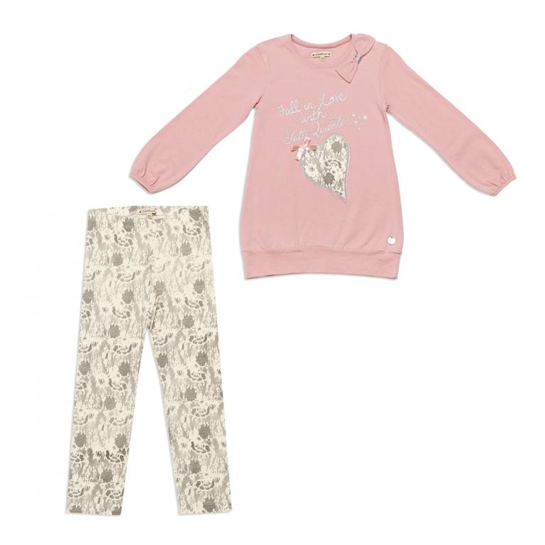 Комплект : туника, брюки (леггинсы) 842010