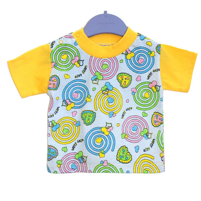 871-01 футболка ЖЕЛТАЯ 991025