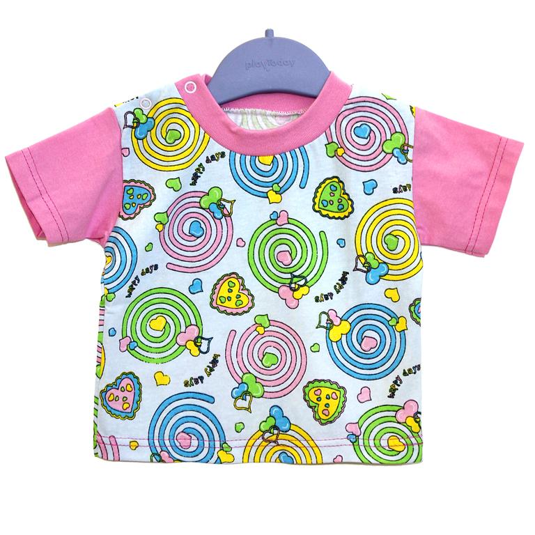 871-01 футболка РОЗОВАЯ 991026