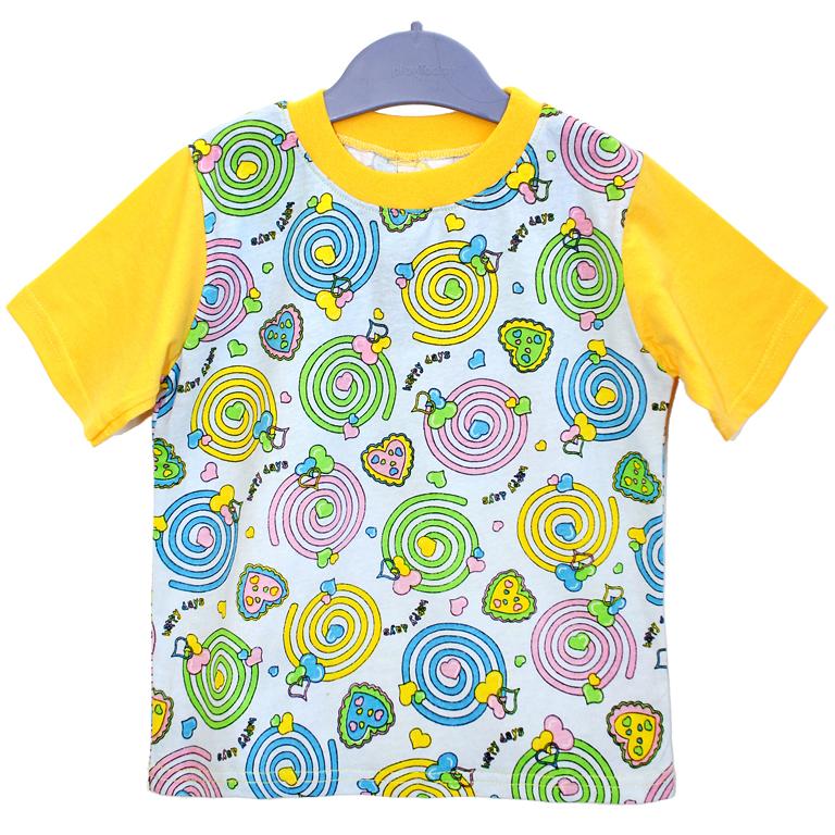 870-01 футболка ЖЕЛТАЯ 991031