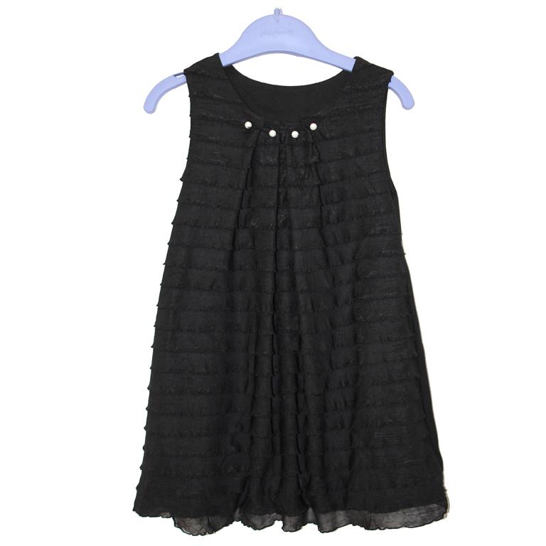 3154-19 платье ЧЕРНОЕ 991044