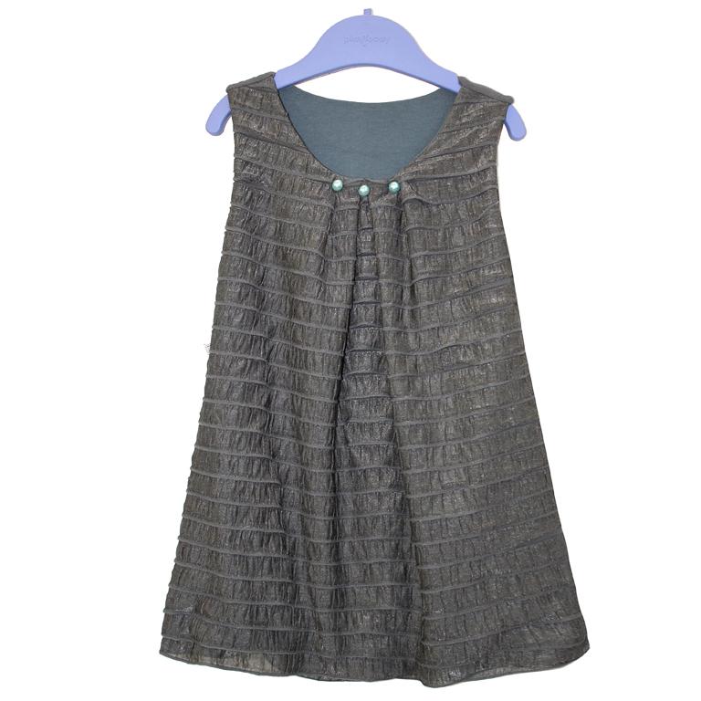 3154-19 платье СЕРОЕ 991045