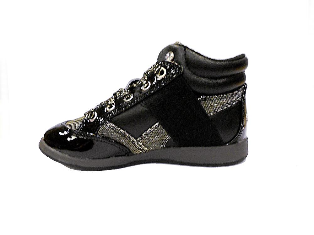 Туфли (кеды) для девочек черные L12I6713 L12I6713IB56003