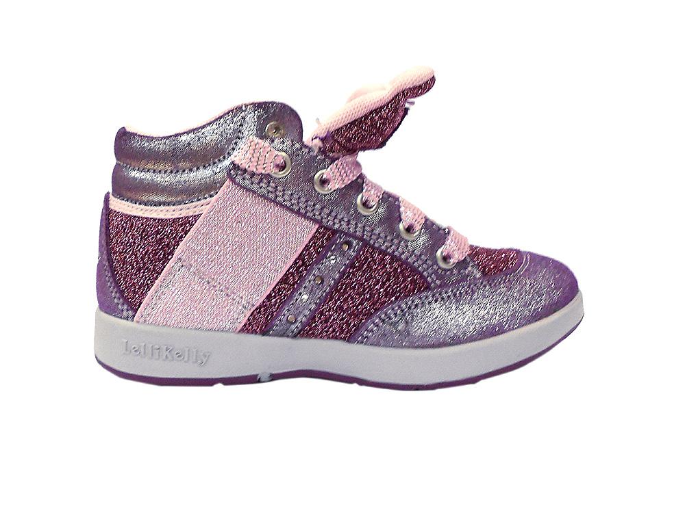 Туфли (кеды) для девочек розовый металлик L12I6722 L12I6722HC01001