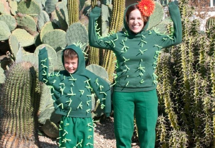 костюм кактуса своими руками