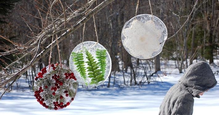 Украшение двора своими руками на новый год