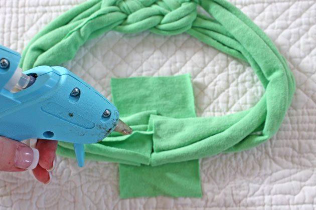 Сделать повязку на руку своими руками