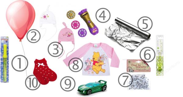 Подарки для детей до 300 рублей